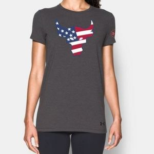 Under Armour Womens Project Rock Bull T-shirt